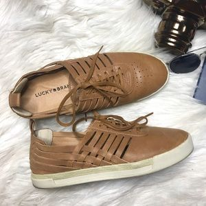 LUCKY BRAND Brown Sugar Missha Huarache Shoes